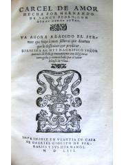 Carcel de amor, 1553
