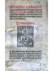 Commentaria in quatuor libros Sententiarum Magistri Petri Lombardi, 1522