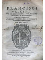 De sacra philosophia liber singularis, 1587