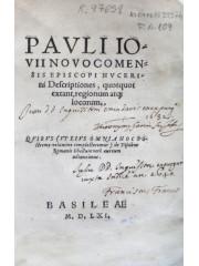 Descriptiones quotquot extant regionum at[que] locorum…, 1561