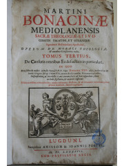 Martini Bonacinae Mediolanensis, 1697