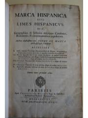 Marca Hispanica sive Limes hispanicus, 1688
