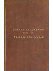 Torres de hierro para los faros del Ebro, 1860