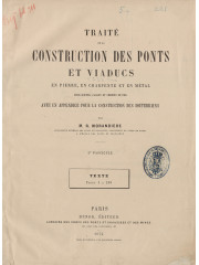 Traité de la construction des ponts, 1874-1888
