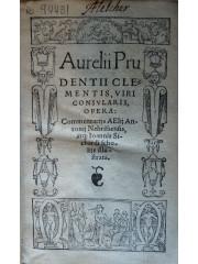 Aurelii Prudentii Clementis … Opera, 1546