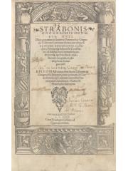 Strabonis geographicorum, Lib. XVII, 1539