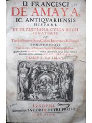 In tres posteriores libros codicis Imperatoris Iustiniani commentarii, 1639