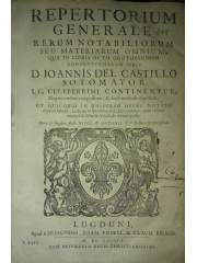 Repertorium generale rerum notabiliorum, 1686