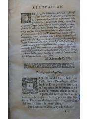 Tercera parte de las obras del Padre Maestro Iuan de Auila …, 1596