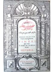 Kitab 'aga'ib al-amqdur fi ahbar Timur, 1636