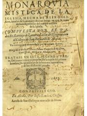 Monarquia mistica de la Iglesia…, 1603