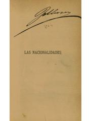 Las nacionalidades, 1882