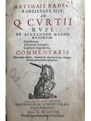 Matthaei Raderi … Ad Q. Curtii Rufi, de Alexandro Magno historiam, 1628