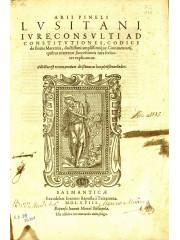 Ad Constitutiones, codice de Bonis Maternis, 1568