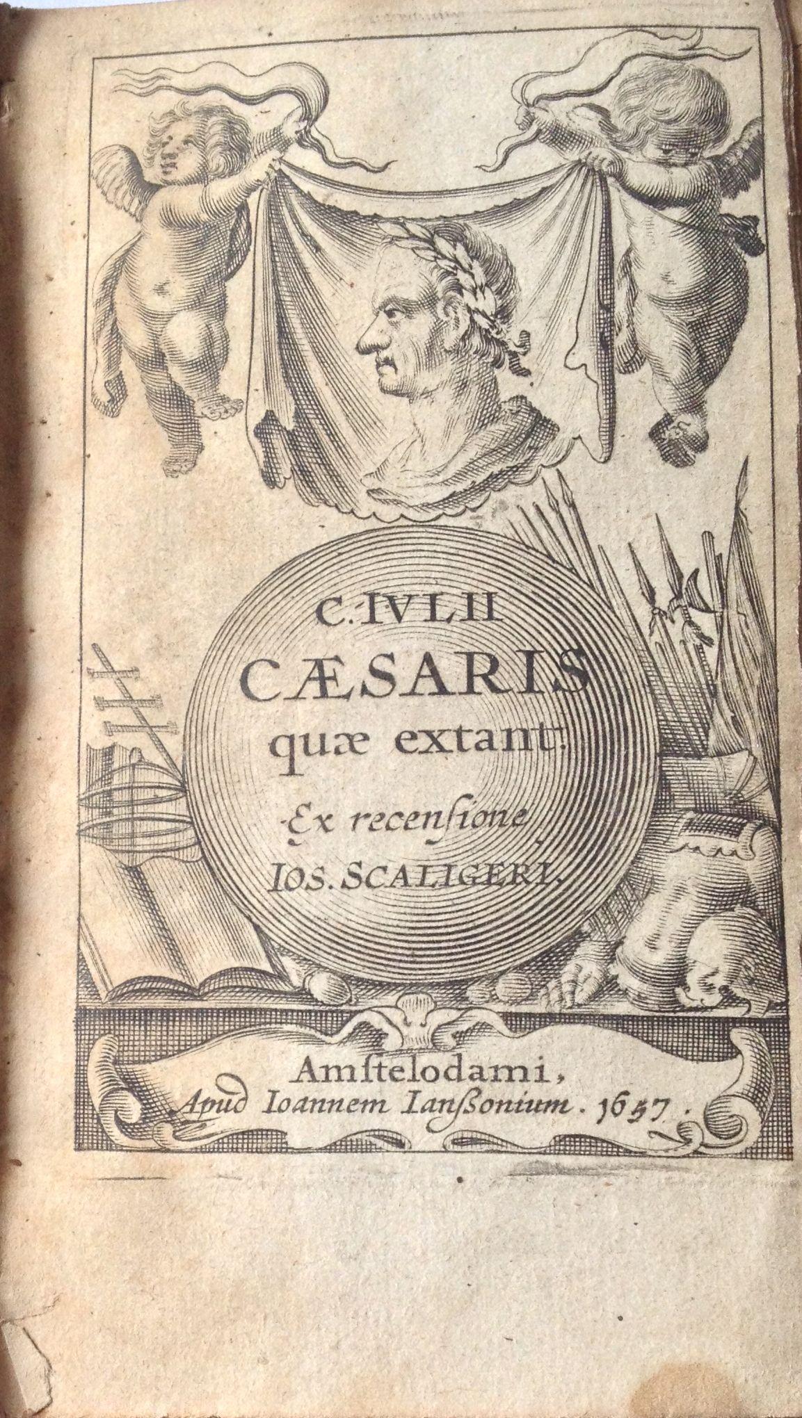 C. Iulii Caesaris quae extant, 1657