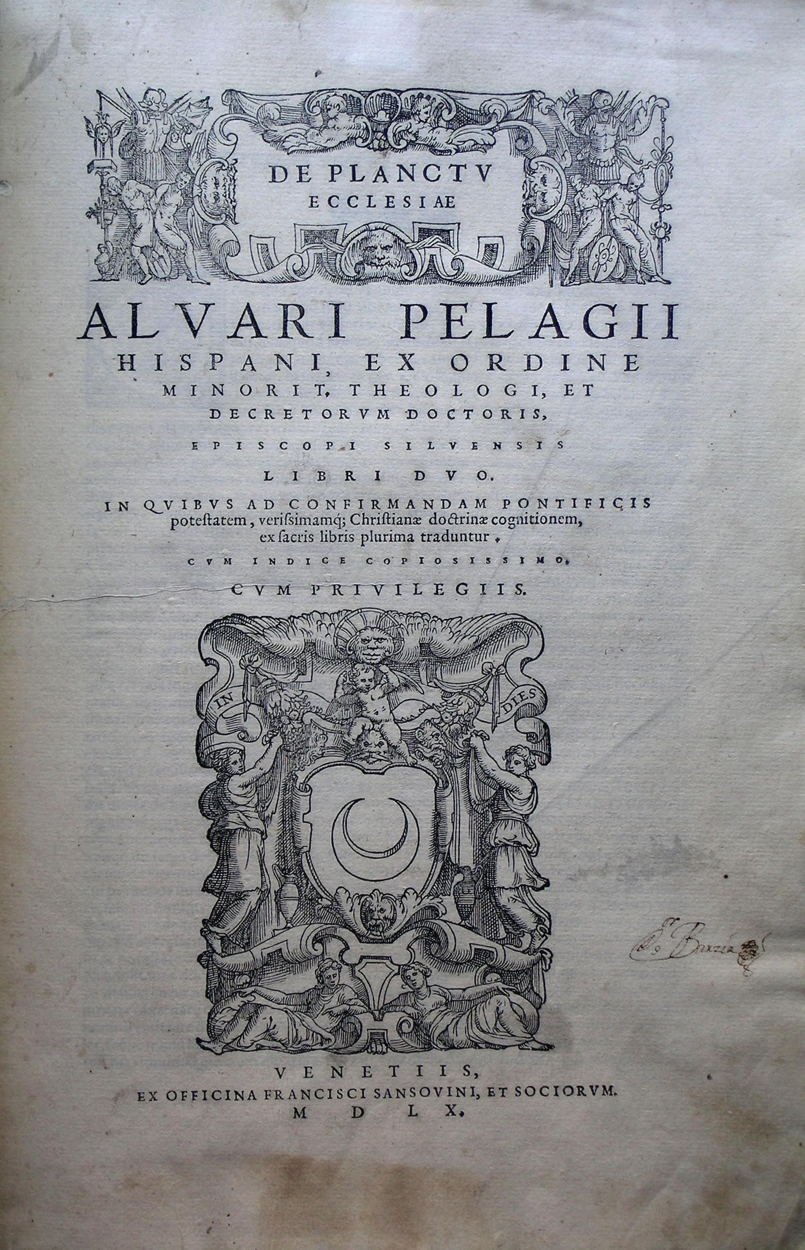 De statu et planctu ecclesiae, 1560