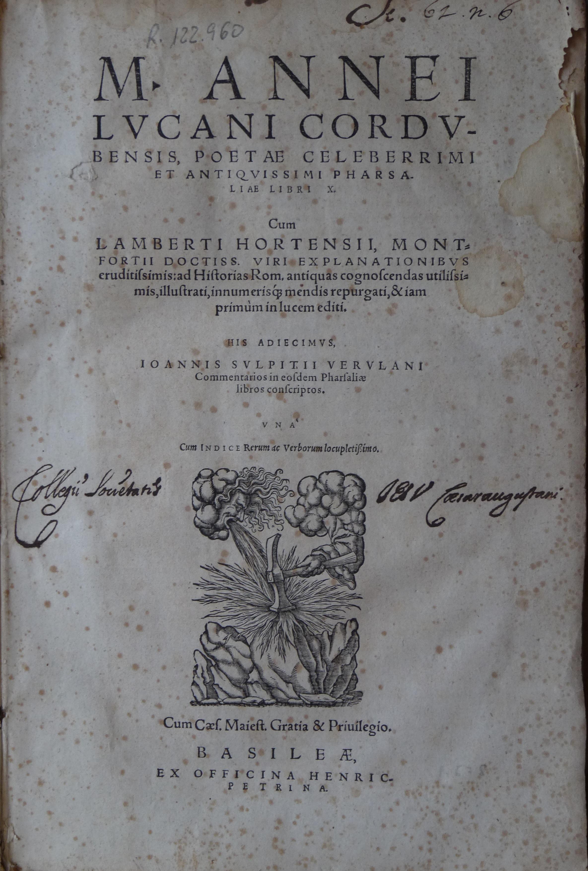 Pharsaliae libri X, 1578