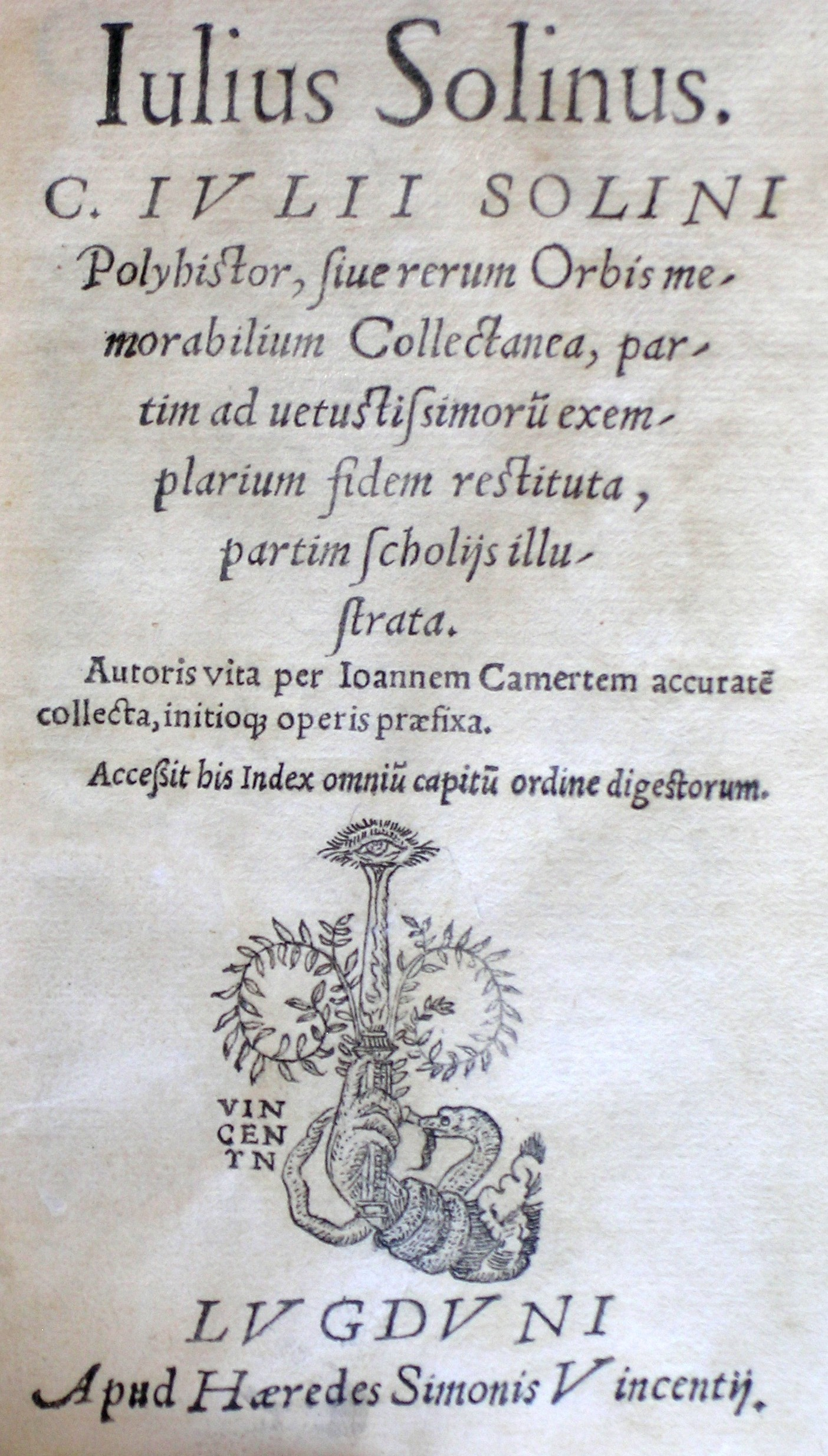 Polyhistor, 1539