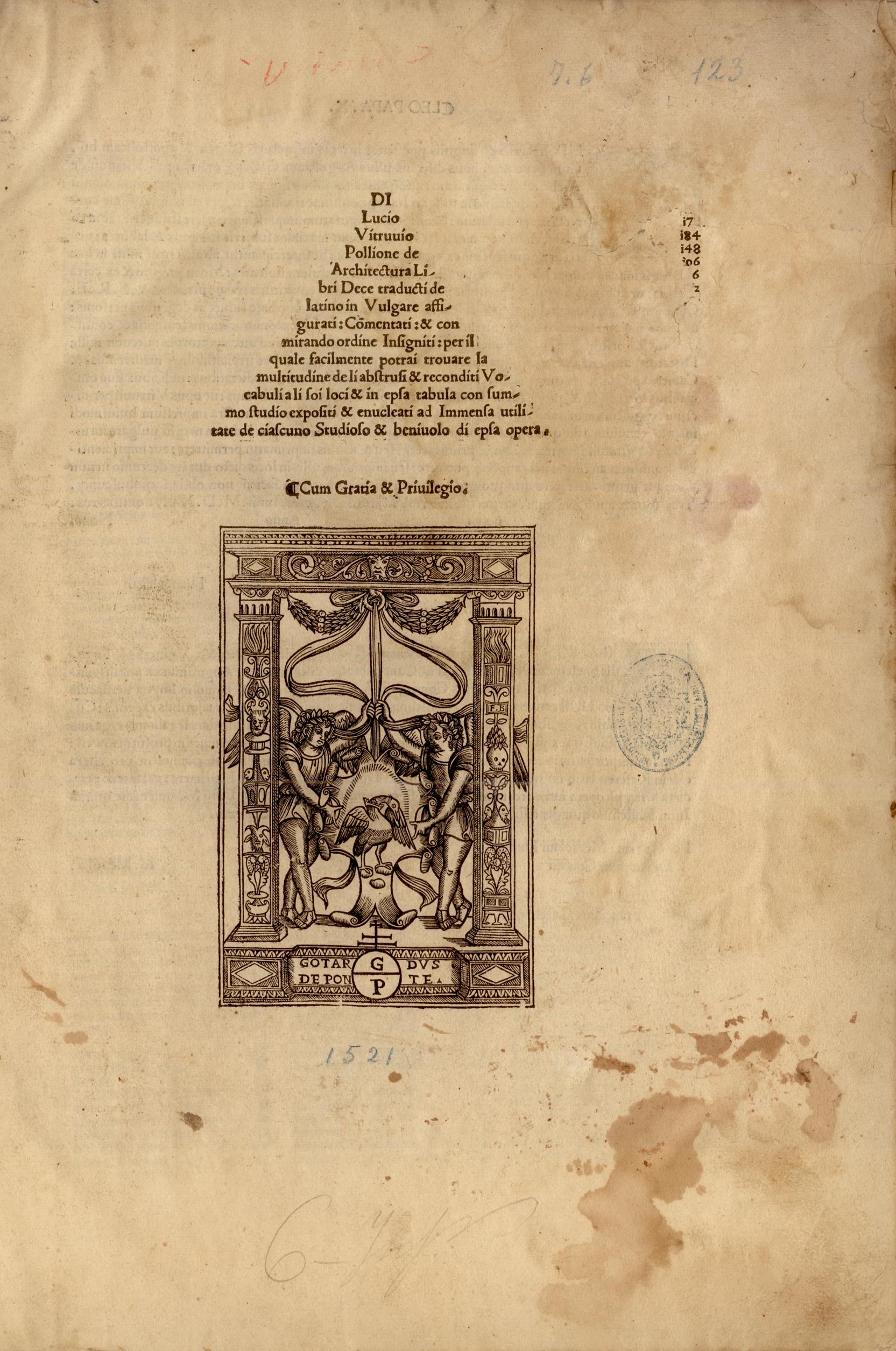 De architectura libri dece, 1521