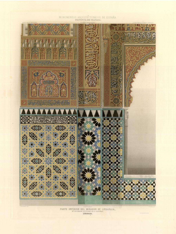 Palacio árabe de la Alhambra, [1870-1890?]