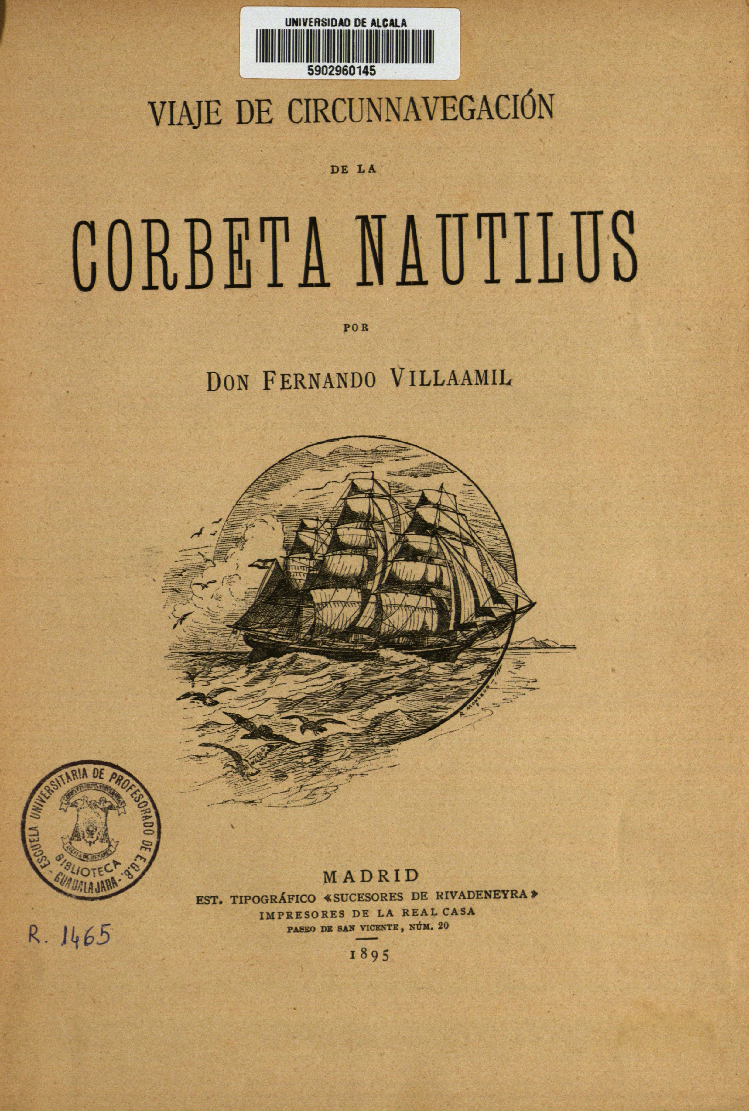 Viaje de circunnavegación de la corbeta Nautilus, 1895
