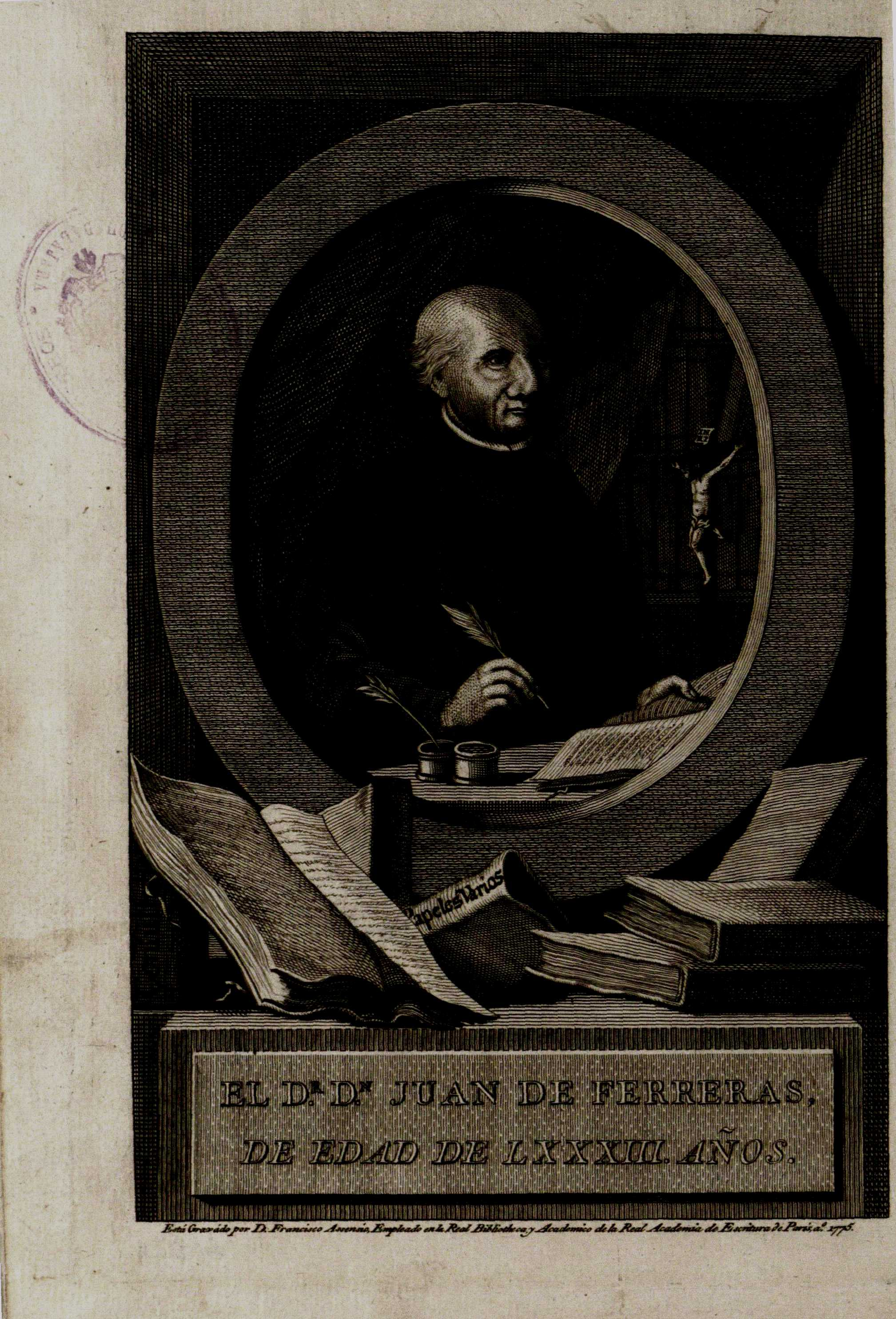 Synopsis historica chronologica de España Parte primera, 1775