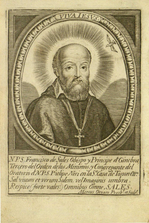 Vida, virtudes y milagros del glorioso señor S. Francisco de Sales, 1695