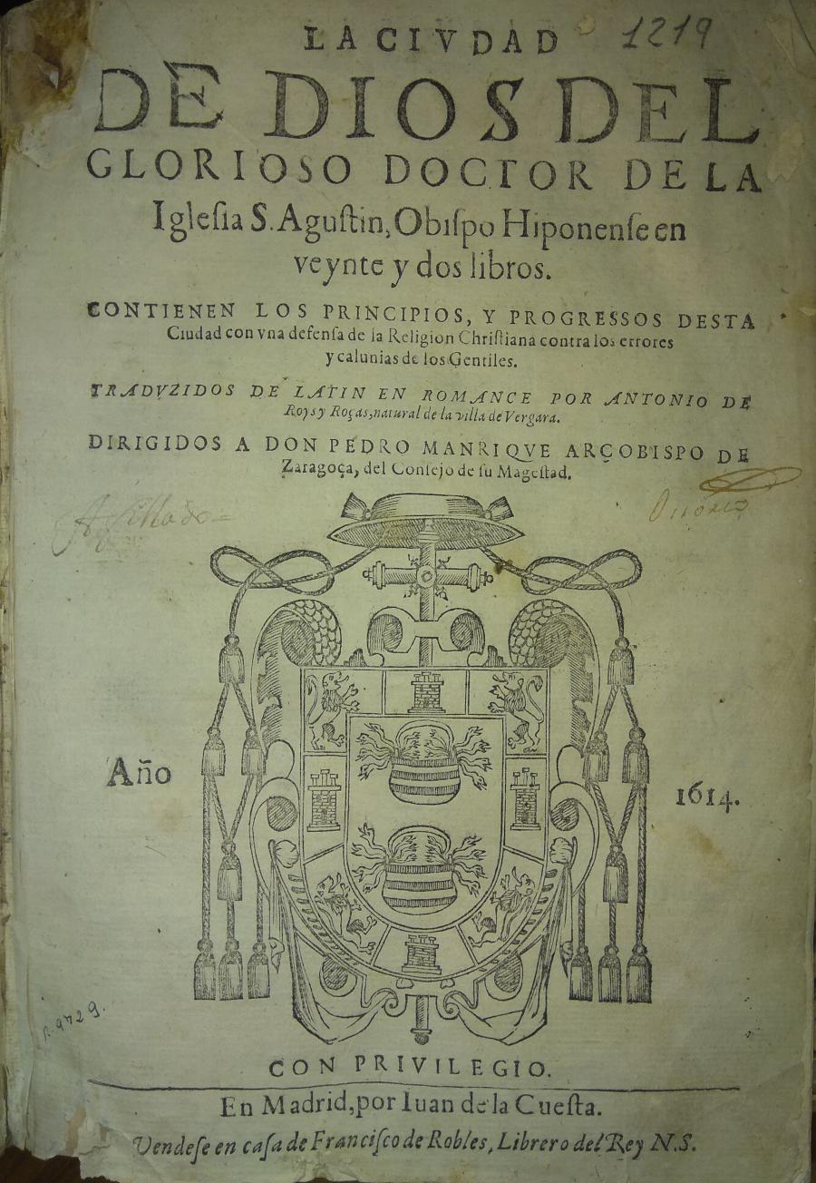 La Ciudad de Dios, 1614