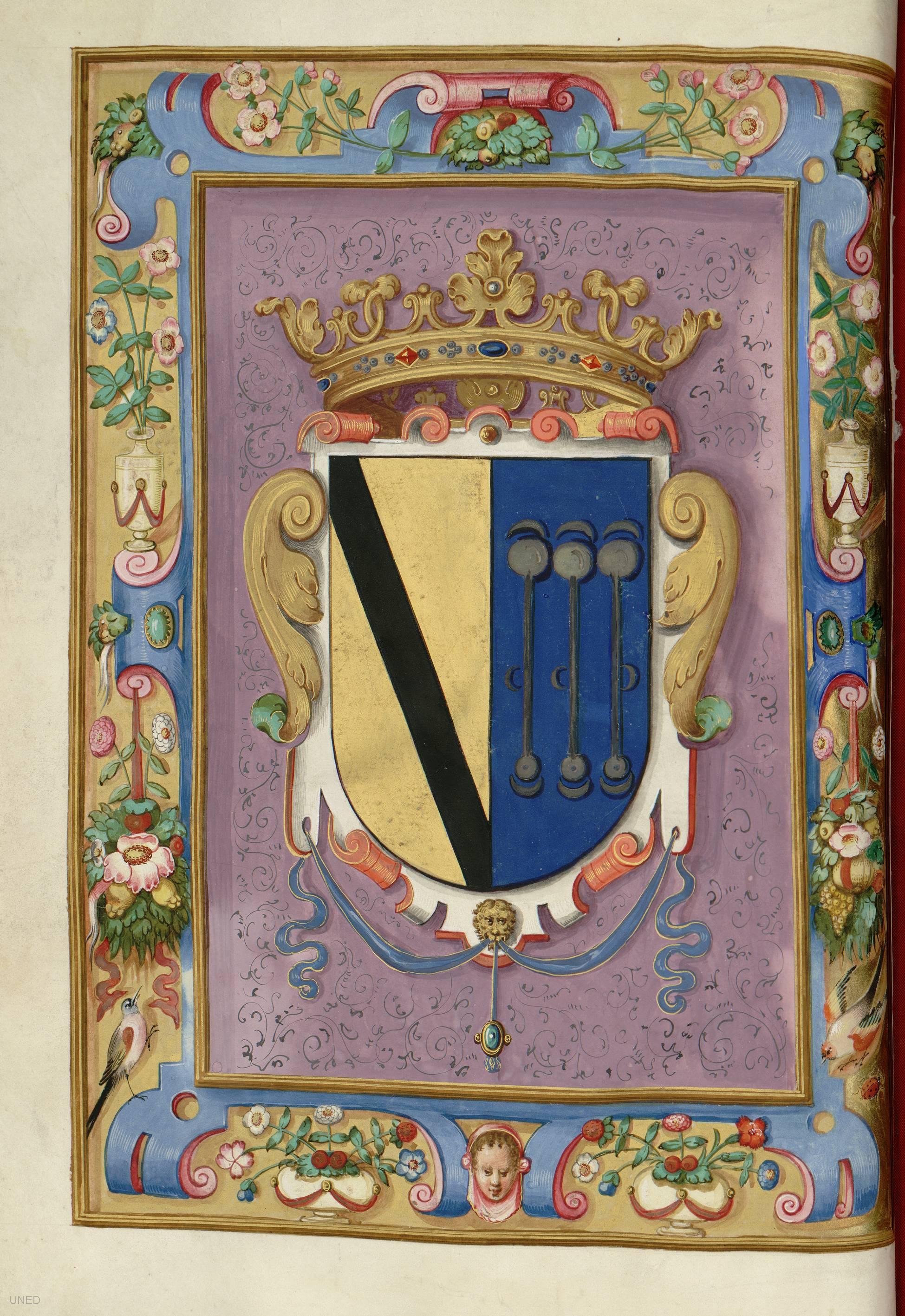Carta de venta y privilegio de Felipe III al Duque de Uceda…, 1613