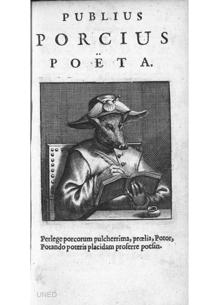 Nugae venales. Pugna porcorum, 1681