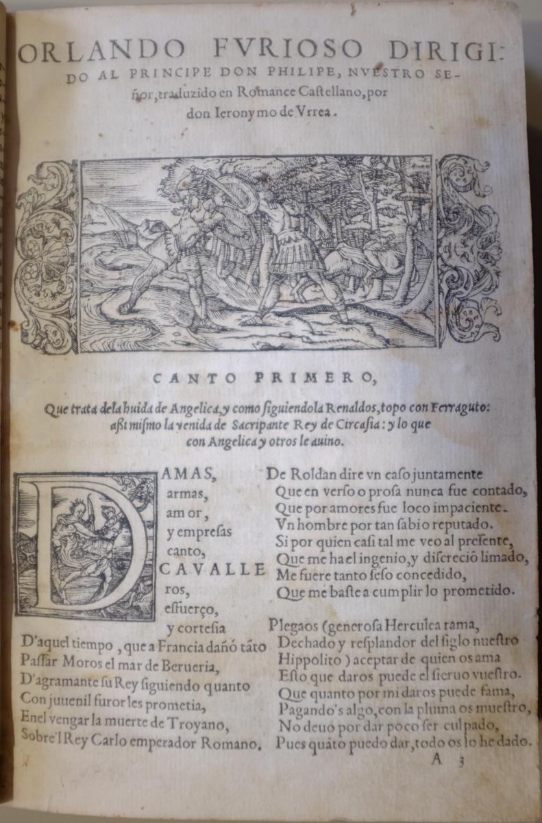 Orlando furioso, 1549