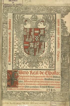 Fuero Real de España…, 1541